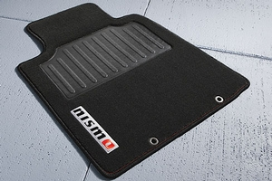 Carpeted Floor Mats (2-piece / Black) - NISMO. Carpeted Floor Mats. image for your Nissan